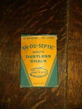 Vintage Binney & Smith AN-DU-SEPTIC Dustless Chalk No. 1400