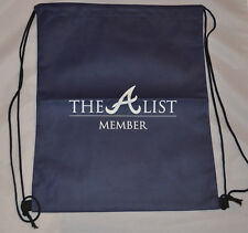 Atlanta Braves - A List Member (Navy Blue) Gym Sac Bag (Suntrust Park)