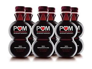 POM Wonderful 100% Pomegranate Juice 16 Fl Oz 6 Count