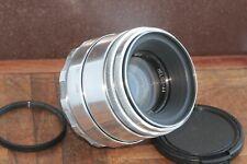 🎥 Excellent Helios 44 2/58 M39 M42 Silver Bokeh portrait Lens Perfekt seller