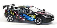 NEU: Toyota Celica Rennwagen Sammlermodell 1:34 schwarz von KINSMART