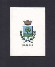 MANTOVA BOZZOLO 05 STEMMA ARALDICA FIGURINA BRIOSCHI anni '20 SERIE 4.ᴬ - n° 90