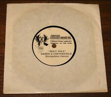 """BASKIN AND COPPERFIELD ROLY POLY ONE-SIDED RAMA ACETATE 7"""" THE RUBETTES"""
