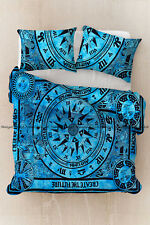 Indian cotton mandala full size duvet cover bohemian comforter cover pillow case