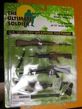 """21st Century The Ultimate Soldier 12"""" 1:6 US MILITARY VIETNAM WEAPONS SET"""