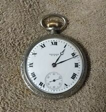 1918 Waltham PS Bartlett 16s 17 Jewel Pocket Watch