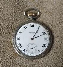 1918 Waltham PS Bartlett 16s 17 Jewel Pocket Watch