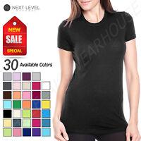 Next Level Ladies 100% Cotton Super Soft Perfect T-Shirt  B-3300L