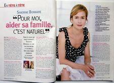Mag 2010: SANDRINE BONNAIRE_ANNE FRANK_MINCIR sans s'affamer