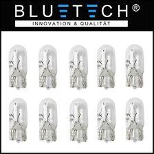10 x T10 W5W 5W 12V W2,1x9,5d Glüh Lampe Birne Glassockel Standlicht KFZ Auto-E4