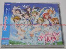 New μ's Wonderful Rush Limited Edition Love Live CD DVD Japan LACM-4979