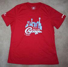NEW 2015 Chicago MARATHON Red WOMEN'S BROOKS Running / Jogging Shirt - MEDIUM