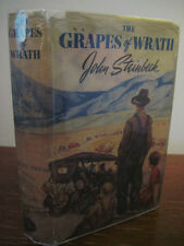 The Grapes of Wrath John Steinbeck Nobel Prize 1st Edition 12th Printing Fiction