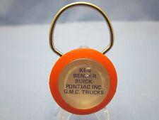 Vintage KEN BENDER BUICK, PONTIAC, G.M.C. Truck / Car Key Chain  ( NICE )