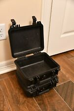 2 X Pelican 1200 Cases - Black with No Foam
