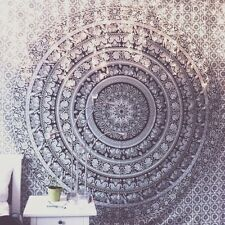 Indian Mandala Bed Cover Bohemian Hippie Wall Hanging Elephant Tapestry Twin