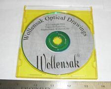 WOLLENSAK OPTICAL DRAWINGS ON CD  (W1005)