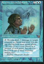 MTG Magic - Terres Natales  - Reveka, Wizard Savant -  Rare VO