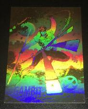 1992 Impel Gambit XH-3 Hologram Insert Marvel Comics Universe Trading Card