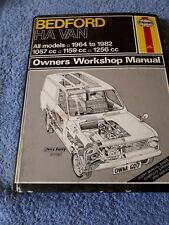 BEDFORD HA VAN 1964-1982 All models HAYNES WORKSHOP MANUAL