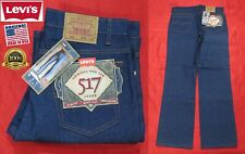New listing New Vintage Levi'S 517 Red Tab Boot Cut Slim Fit Indigo Jeans Usa Made 36x34