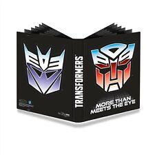 Ultra Pro, 9 Pocket Full-View Pro Binder, Transformer Shields (Hold 360 Cards)
