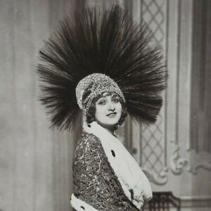 Gaby Deslys French Silent Film Theatre Actress Dancer Singer Photo Postcard F51