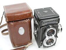 Rolleiflex T Nr. ohne without number Tessar 3,5/75mm + Tasche Gurt case + strap