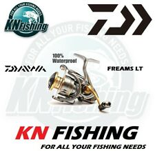"DAIWA ""FREAMS LT"" 2000, 2500, 4000 Spinning Reel Light And Tough Japan Fishing"