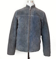 Williams Leather Men's Size S Motorcycle Style Jacket Light Blue