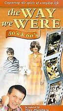 The Way We Were, 50s & 60s, Introduced by Tony Blackburn VHS PAL Video