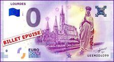 UE EM-1 / LOURDES / BILLET SOUVENIR 0 € / 2018-1