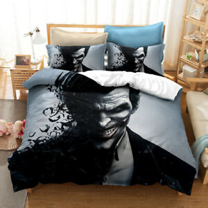 Joker Single/Double/Queen/King Bed Quilt Cover Set A