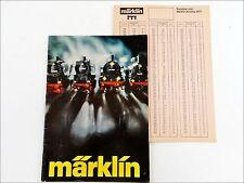 Märklin Katalog H0 1  Z mini-club Sprint Metall 1977 (B)