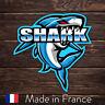 Autocollant Sticker Decal ESports Gaming Logo Mascot Shark Team 9cm FPE125