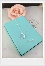 925 sterling silver little heart pendant necklace