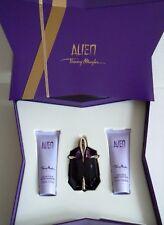 Thierry MUGLER ALIEN SET REGALO 3 pezzi Eau de Parfum * dopo riempire * 30ml NUOVO OVP
