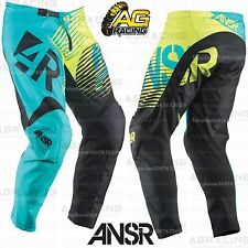 Answer 2015 Youth Syncron Teal Green Race Pants 20 inch Motocross Enduro Quad