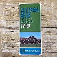 Vintage Brochure Sleeping Bear Sand Dunes Park Glenlake Michigan MI Advertising