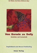 Von Darwin zu Dolly. Evolution und Gentechnik. Begl... | Buch | Zustand sehr gut