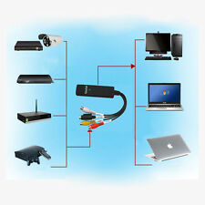 Easycap USB Audio VHS to DVD Converter Capture recorder analog video to digital