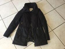 Parka manteau KAPORAL taille XS gris et noir neuf