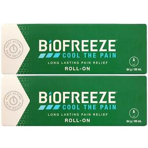 Biofreeze Biofreeze Pain Relieving Roll 89ml - 2 Pack