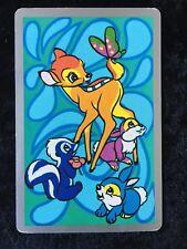 Swap Playing Cards 1 1970's Japanese Nintendo Disney Bambi & Co A161