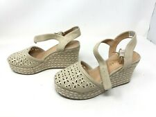 Womens Skechers (39044) TURTLEDOVE Natural espadrille sandals (443D)