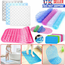Strong Large Anti Non Slip Suction Bath Shower Mat PVC Foot Massage Bathroom Rug