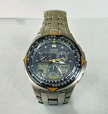 CITIZEN ANGELS -SKYHAWK ECO-DRIVE CRONOGRAFO LINEA ANA-DIGI Blue angels