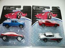 Chevrolet Corvette 57 97 2002 Avalanche 1999 Silverado 1:66 Diecast Modellauto