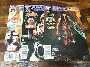 XENA WARRIOR PRINCESS & JOXER WARRIOR PRINCE#1-3 (TOPPS/TV/111517) FULL SET OF 3