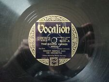WOODY HERMAN THE GOOSE HANGS HIGH/ CALIOPE BLUES Vocalion S221 Schellackplatte